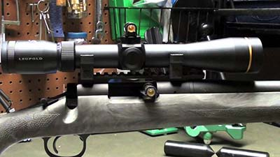 Scope mounting bore sight