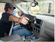 vehicle gun fighting